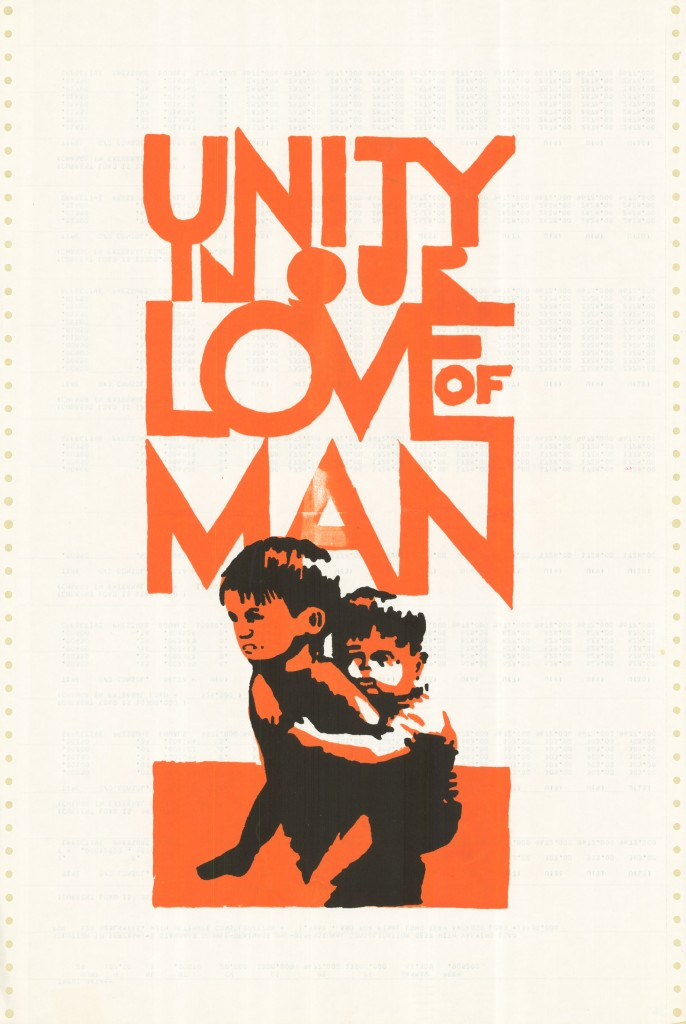 Unity in our love of man